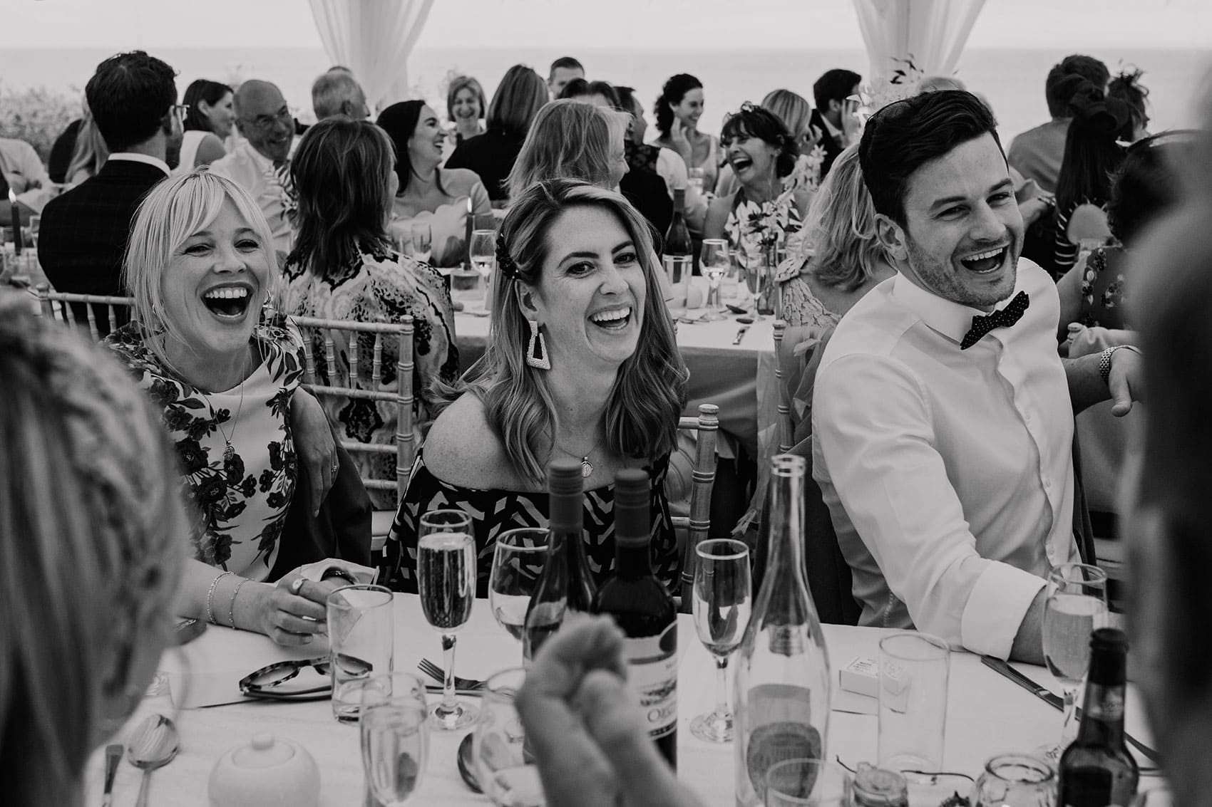 our approach to photographing wedding speeches