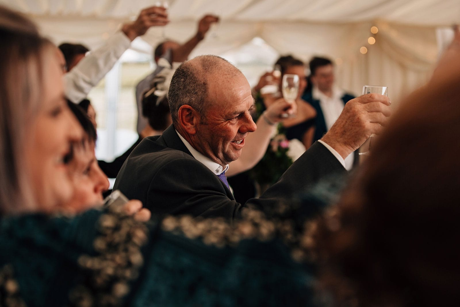 Yorkshire photographer our approach to wedding speeches
