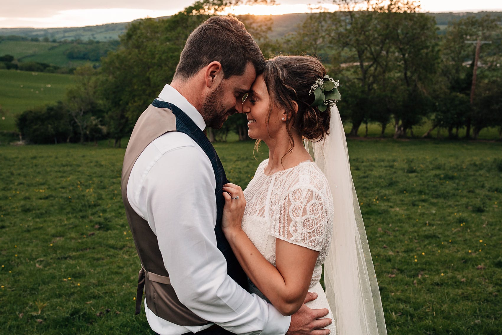 laid back marquee wedding North Yorkshire photography