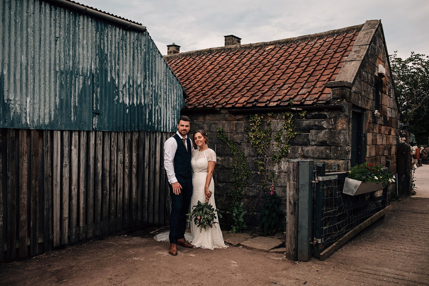 laid back garden stables wedding photography