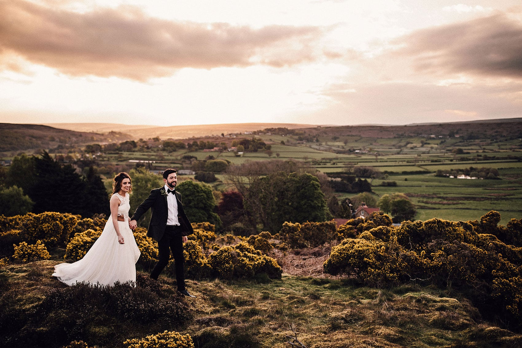 About Us North Yorkshire Wedding Photographers Danby shoot
